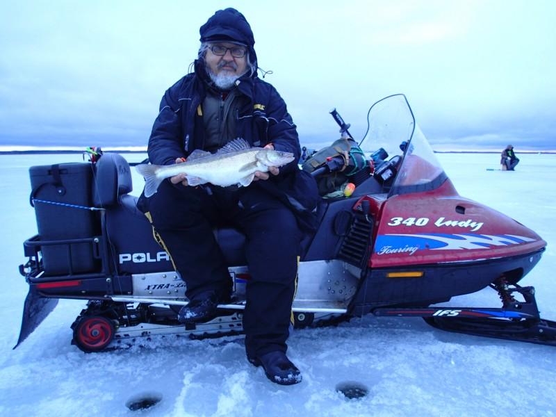 KALAMEES  ja KOHA ( 1.73 kg ) , 10.03.2019 LÄMMIJÄRV