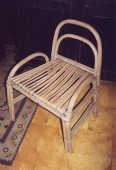 Primitive large chair