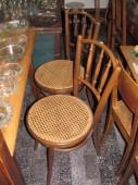 Restaureeritud rotangpõhjaga toolid