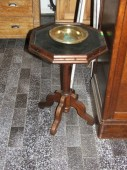 Small oak table