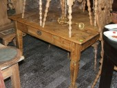 19 century rustic table