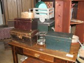 Small antique chests