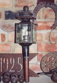 Candle lamp pre 1900