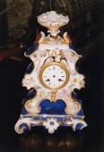 pre 1900 porcelain clock