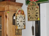 ca 1900 clocks w painted clock-faces