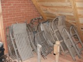 early 1900. Smaller antique sleighs