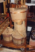 Rustic wooden items