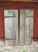 Old doors ( pair )