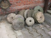 Smaller millstone ( pair)
