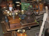 Coffee grinders pre 1940