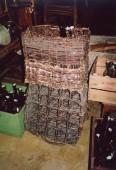 early 1900 bottle baskets