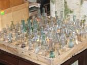 Antiiksed klaaspudelid