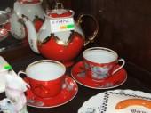 China large tea jug & cup