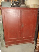 ca 1850 large rustic cupboard