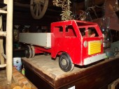 ca 1970-s big wooden toy - truck