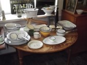 Antique enamel dishes