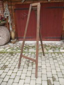 Old wooden easel