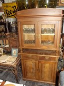 Cupboard , pine , ca 1920-s , renovated.