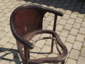 Thonet - type CORNER CHAIR ca 1900