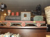 Pre 1940 large wooden train