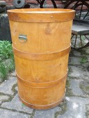 Plywood barrel ....