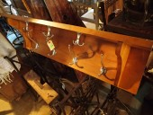 Antique rack , birch