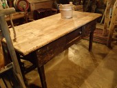 Rustic table , early 19. century , pine