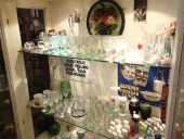 Antique shot glasses and other ...