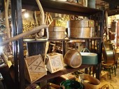 Different antique Estonian rustic items