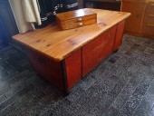 Antique table-chest
