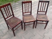 Antique Estonian chairs