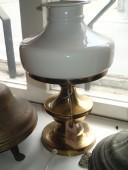Antiikse kupliga elektriline lamp / töökorras