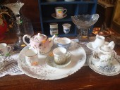 Imperial Russian china dishes
