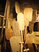 Antiiksed suured puust leivalabidad