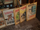 Soviet posters , ca 1950-s