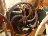 VÄGA RASKE DEKORATIIVNE malmist ratas diam.60 cm