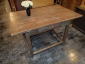 Antique 19. century  rustic table / pine