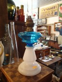 Antique oil lamp