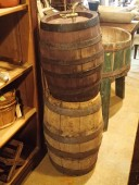 Different size LARGE BEER BARRELS