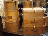 Antique PLYWOOD CASES & BOXES
