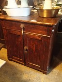 early 1900 , Rustic CUPBOARD , pine