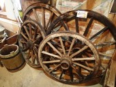 1800-s , POST WAGON WHEELS