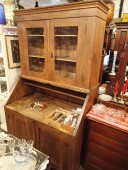 Antique cupboard / renovated , 19.century , pine