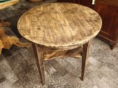 Smaller restored table / birch