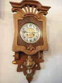 Antique ART NOUVEAU clock early 1900