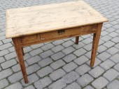 19. century RUSTIC TABLE RESTORED ...FOR KIDS ....?