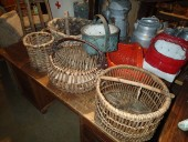 NICE ANTIQUE BASKETS