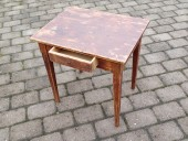 VERY SMALL RUSTIC TABLE FOR KIDS