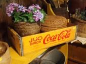 Vana ROOTSI / SOOME Coca - Cola kast