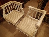 CORNER CHAIRS 1800-s / pair
